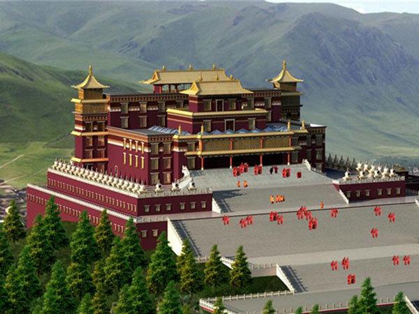 青海地震災區援建項目—結古寺